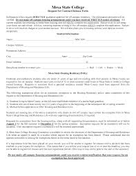 Contract Release Form Awesome Release From Contract Template Images Example Resume 9