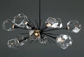 crystal chandelier ceiling light crystal pendant light unique starburst oval chandelier plb0039 0d