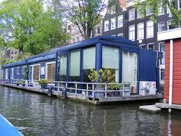 houseboat in amsterdam in 2018 floating houses floating house houseboat living and boat