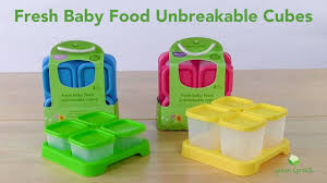 green sprouts fresh baby food unbreakable cubes