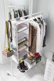 SVIRA Hanging storage with 7 compartments, gray, white stripe