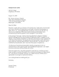Cover Letter Sample Cover Letter For Cna Free Sample Cover Letter