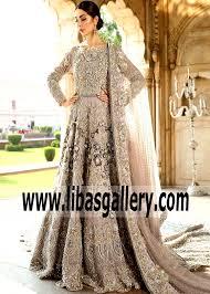 Erum Khan Dress Designer Erum Khan Gown Embellished Wedding Dress