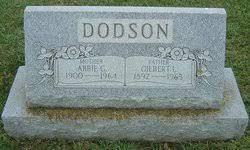 "Abigail Goldie ""Abbie"" Wiltshire Dodson (1900-1964) - Find A Grave Memorial"