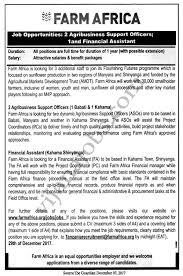 Financial Assistant Job Description Agribusiness Support Officers Financial Assistant TAYOA 22
