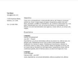 ... google docs resume template english Resume templates and Google Docs ...