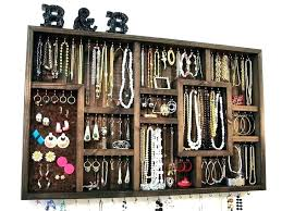 jewelry holder mirror wall jewelry organizer wall jewelry organizer hanging jewelry rack organizer wall by box mirror wall jewelry organizer wall mounted