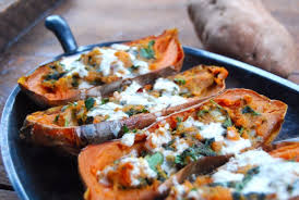 sweet potato recipes indian. Exellent Sweet Vegan Sweet Potato Skins For Recipes Indian