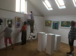Inspiring exhibition by Hilary Arnold in Beer's Bomb Shelter this week |  SEATON & COLYTON matters
