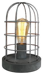 Stand Steh Industrie Leuchte Lampe Vintage Retro Fabrik