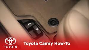 2014.5 Toyota Camry How-To: Fuel Door, Hood, Trunk Releases ...