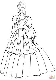 プリンセス ぬりえ