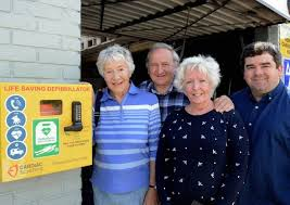 New defibrillator for Pagham is funded by residents | Bognor Regis ...