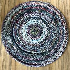 m handmade braided rugs cotton round rug