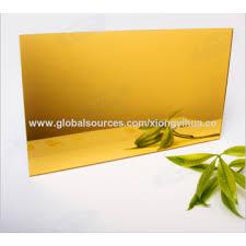 china window wall decoration gold mirror acrylic sheet