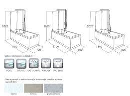 Disegno Bagni bagno dwg : Misure Vasca Standard Con Misura Vasche Da Bagno Dwg Comorg Net ...