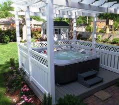 Outdoor Jacuzzi 8 Ways To Place Your Original Outdoor Jacuzzi Hot Tubs Tubs And