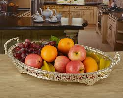 How To Decorate Fruit Tray 100100cm large size silver plated metal fruit plates fruit trays 9
