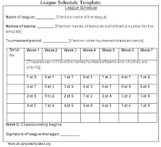 Team Snack Schedule Template 12 Team Schedule Template Atlasapp Co