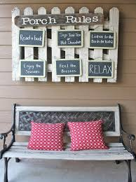 diy hanging front porch rules seating 20 diy porch decorating ideas projects
