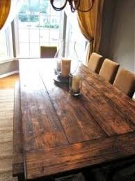 how to make your own dining room table gorgeous diy table i think charles knows where he can get old barn woo