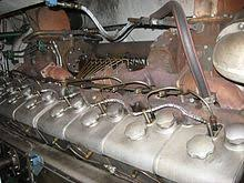 v16 engine 72 litre mgo v16 bshr diesel engine on finnish dv12 class locomotive