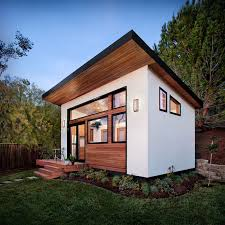 Small Picture This contemporary 264 square foot prefab home designed by Avava