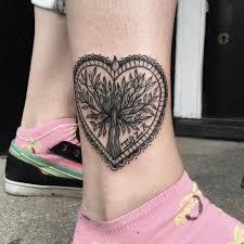 92 крутых татуировок на лодыжках Ttatturu