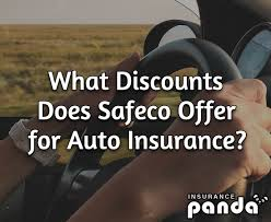 does safeco offer for auto insurance