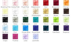 Prom Dress Color Chart Color Chart Mothers Dresses Beach Dresses Groom Dress