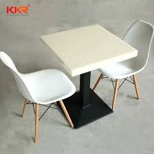 corian table solid surface resin dining table for restaurant custom corian table tops