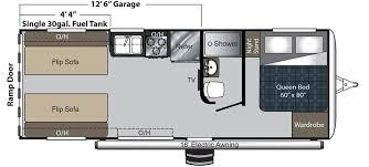 carbon keystone rv 22 floorplan