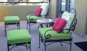 wrought iron patio furniture cushions. Wrought Iron Chair Cushions Cozy Vintage Patio Furniture :