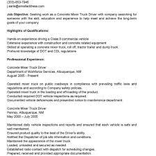 Truck Driver Sample Jobcription Flatbed Resume Cv Cover Letter