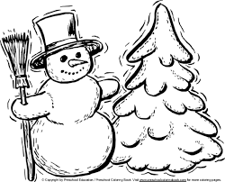 Small Picture Winter Tree Coloring Page Winter Tree Coloring Pages Free