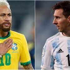 Neymar blasts Brazil fans backing Messi ...