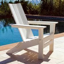 polywood modern trio folding adirondack chair mna lays flat