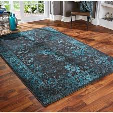 teal area rugs distressed traditional black teal area rug multiple size options teal area rugs 4x6