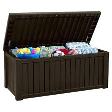 suncast deck storage box deck box with seat outdoor deck storage box wooden outdoor storage box