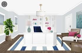 office design online. Coastal, Transitional, Preppy Office Design By Havenly Interior Designer Shannon Online N