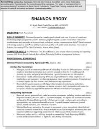 Resume Sample For Accountant Position Sample Resume For An Accounting Position Dummies