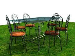 black iron furniture. Black Wrought Iron Garden Furniture C