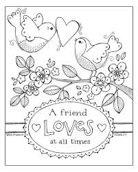 Small Picture Scripture Coloring Page Love One Another free print at ldslane
