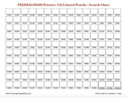 Prismacolor Premier 150 Color Chart Pdf Www