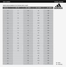 Adidas Clothing Sizing Chart