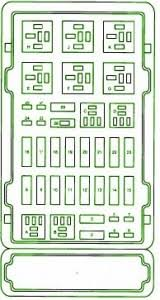 ford aspire fuse box diagram ford automotive wiring diagrams