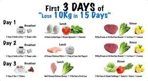 Hard Diet Chart Lose 10kg In 15 Days Diet Plan Lose 10kg Lose 15 Pounds
