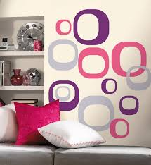 Wall Designs For Girls artistic girls room wall decals design inspirations  - best wall