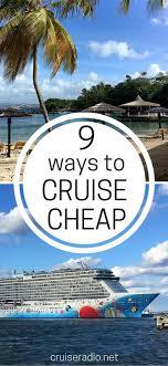 9 ways to cruise