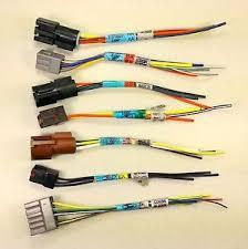 ford camper wire harness plugs f4ub f7ub 14a411 e498p qty 7 aa ba image is loading ford camper wire harness plugs f4ub f7ub 14a411
